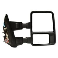 2009-2015 Ford Super Duty Black Right Hand Passenger Mirror on sale