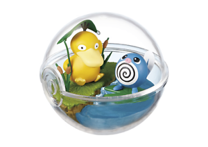 Re-ment-Pokemon-Terrarium-Pokeball-Collection-2-Figure-Psyduck-and-Poliwag
