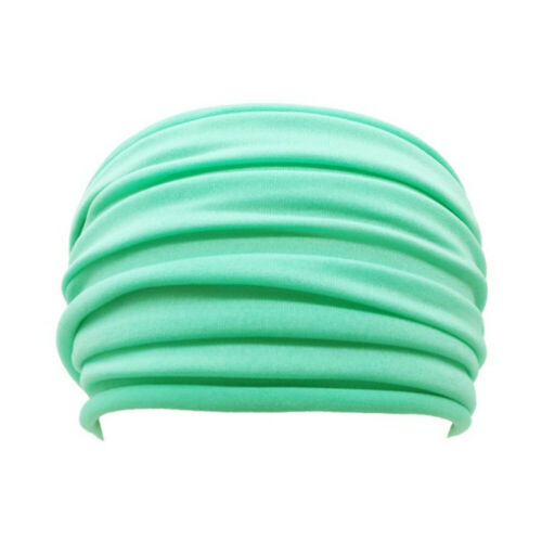 Women//Men Yoga Sports Wide Headband Elastic Boho Hair Band Head Wrap Wristbands