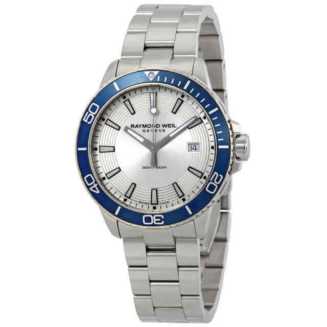 39733291ca1 Raymond Weil Tango Silver Dial Men s Stainless Steel Watch 8260-ST9-65001