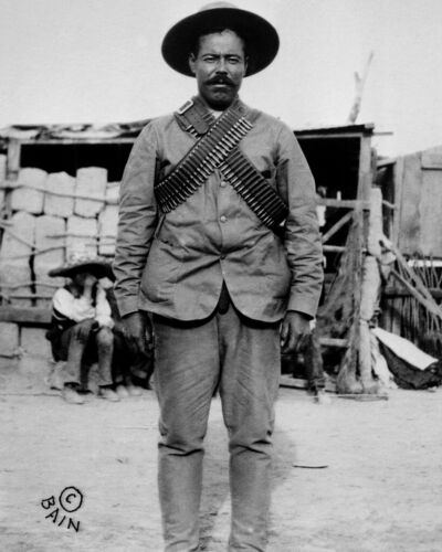 "New Restored Satin Finish Photo 5 Sizes Mexican Gen Francisco /""Pancho/"" Villa"