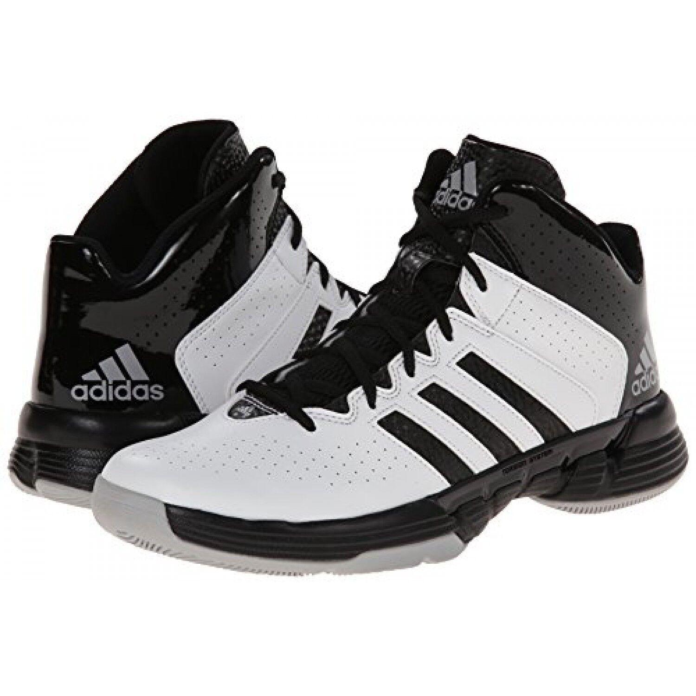 adidas Performance Férfi Kereszt Em 3 Kosárlabda Cipő Fehér / fekete C76818 #BR