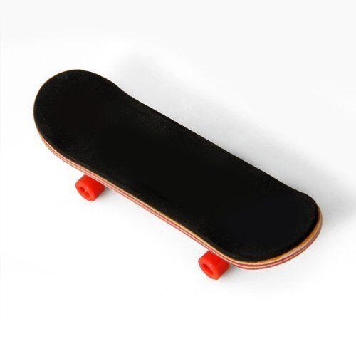 HT00640 Wooden Finger Skate Board + Screwdriver Random Pattern B4M7