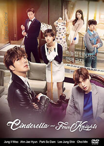 Cinderella-and-Four-Knights-Korean-Drama-4DVDs-Excellent-English-amp-Quality