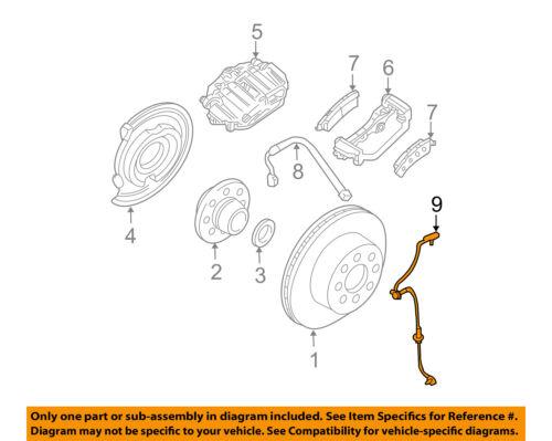 2007-2013 SILVERADO SIERRA 1500 REAR WHEEL SPEED SENSOR NEW GM #  20938121