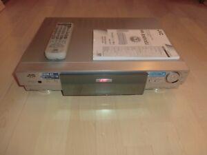 JVC HR-S9850 High-End S-VHS ET Videorecorder, mit FB&BDA, 2 Jahre Garantie