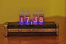 Nixie Clock IN-14 Retro clock with in-14 nixie tube lamp