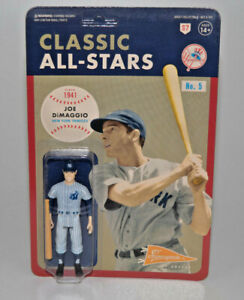Joe DiMaggio Super7 Classic All-Stars New York Yankees ReAction Action Figure