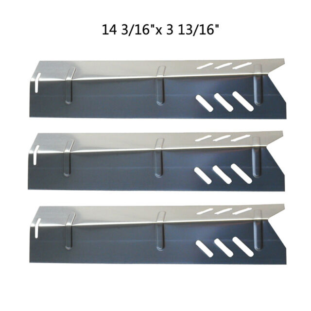 BBQ Gas Grill Stainless Steel Heat Plate for Uniflame JPX581 - 3 SS