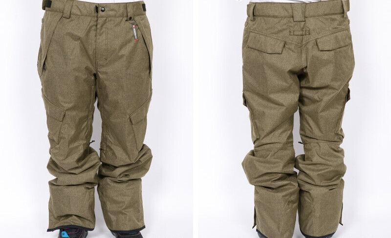 686 Infinity Cargo Snowboard Pant (L) Khaki Melange L9W214-KHA
