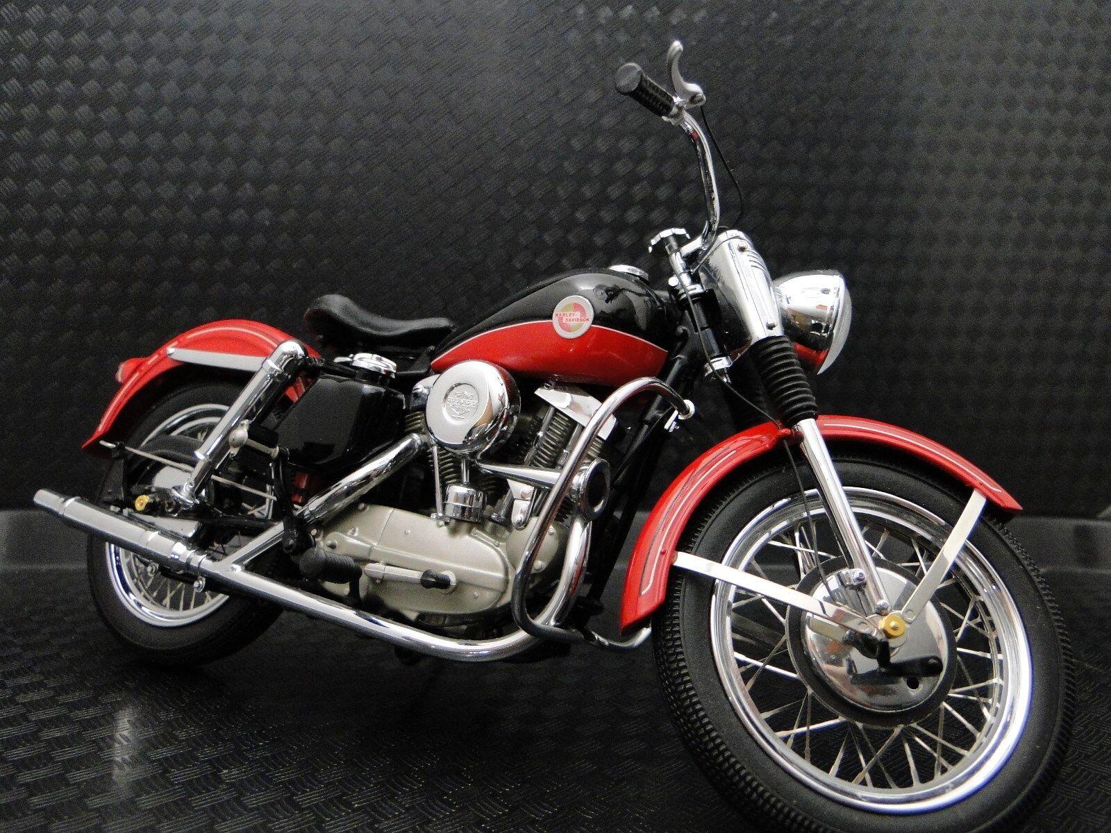 1950 -talet Harley Davidson Motorcycle modelllllerlerl Easy Rod Egen Rider Touring cykel 1 10