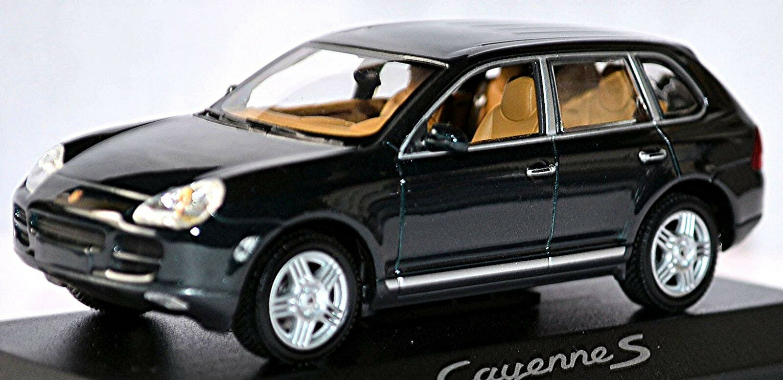 Porsche Cayenne S Type 9 PA 2002-07 lagovert vert Metallic 1 43 Minichamps