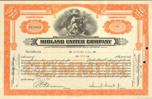 Midland-United-Company-gt-1930-stock-certificate-share