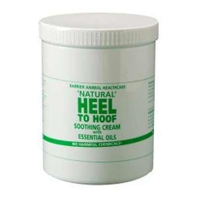 Barrier Natural Heel to Hoof Soothing Cream Hoof Care for Horses 250ml