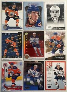 Connor-Mcdavid-9-Card-Lot-Shooting-Stars-Shining-Stars-Red-Edmonton-Oilers
