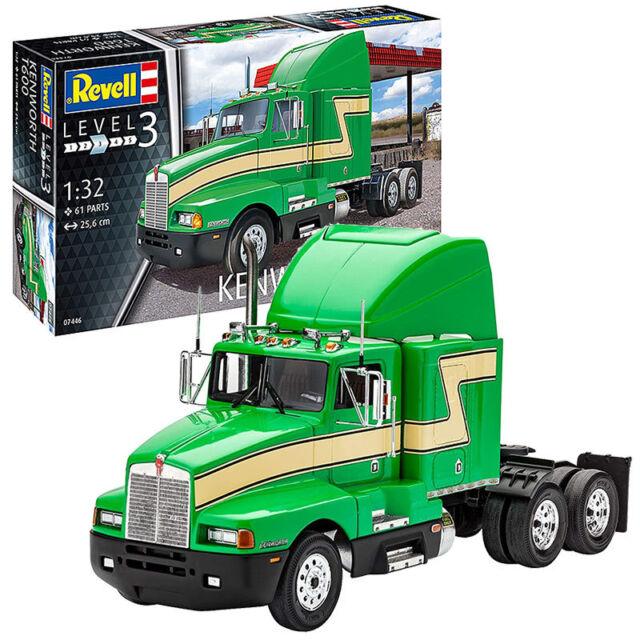REVELL Kenworth T600 1:32 Truck Model Kit 07446