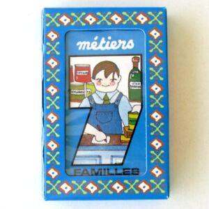 Ancien jeux de Cartes - 7 Familles - LES METIERS  - Etat neuf