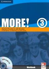 More! Level 3 Workbook with Audio CD, Lewis-Jones, Peter, Holzmann, Christian, G