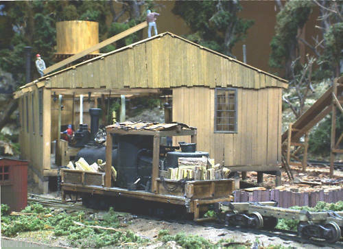 TALL TIMBER RAILROAD On30 Featured in Model Railroading