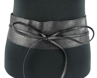 Gürtel Damengürtel Hüftgürtel Leder-Look Taillengürtel Hakenverschluss NEU