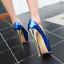 Womens High Heel Peep Toe Sandal High Stilettos Platform Shoes Nightclub Plus Sz