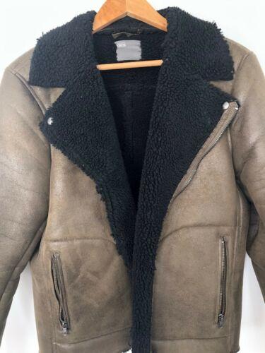 ASOS Mens Faux Green Suede Jacket
