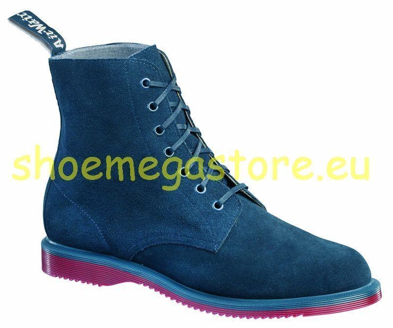 Dr Martens Blue 7 BUCHI Drury Blue Martens 14326401 ORIGINALE Doc bb781e