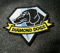 Metal Gear Solid Diamond Dogs Hook Loop Tactical Patch