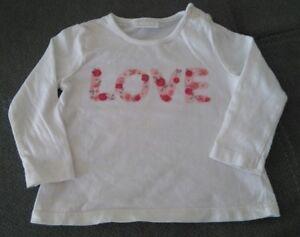 Clothing, Shoes & Accessories Smart Langarmshirt 62-68 F&f Girls' Clothing (newborn-5t)