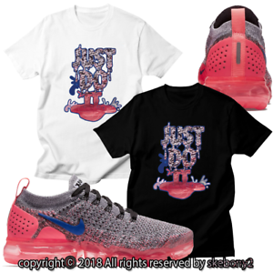 classic fit 8a9d8 202f3 Details about NEW CUSTOM T SHIRT matching NIKE AIR VAPORMAX PLUS FLYKNIT 2  AVP 1-13-14