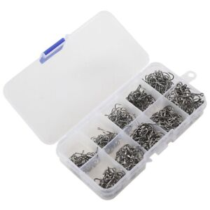500pcs-Fish-Jig-Hooks-with-Hole-Fishing-Tackle-Box-10-Sizes-Carbon-Steel-F9C9