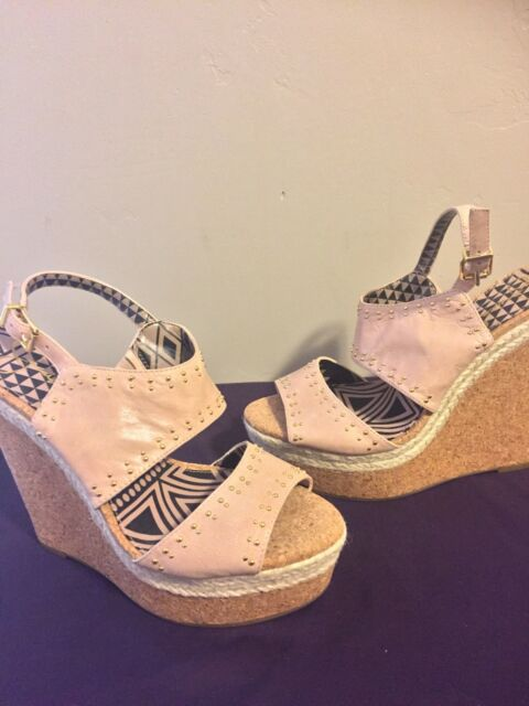 Jessica Simpson Women's Geno Wedge Sandals Platforms Cork Heels