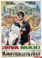 VIVA MAX - Classic Comedy Mexico Retakes Alamo in 1969 - Peter Ustinov Movie
