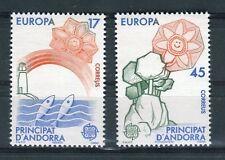 Andorra Spagnola 1986 serie Europa protezione natura ed ambiente MNH