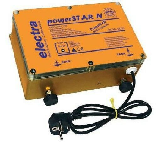Powerstar N von electra Elektrozaungerät Weidezaungerät Weidezaun Weidegerät