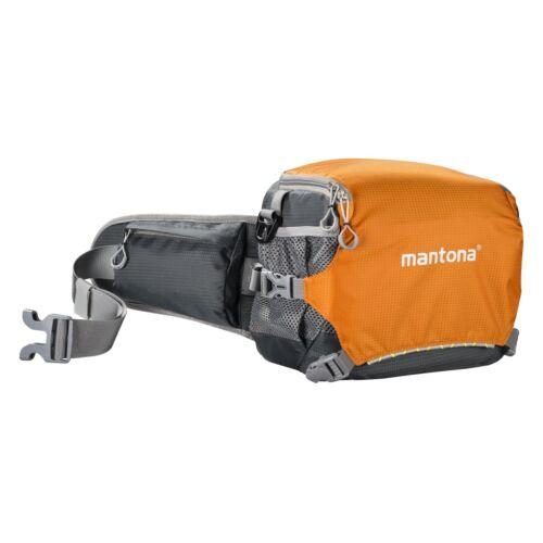 transpirable ligero Mantona estuche elementspro 20 naranja compacto