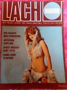 TIJDSCHRIFTEN / LACH69  HET BLAD VOOR DE MAN VAN NU NR 48 / 27-11-1970