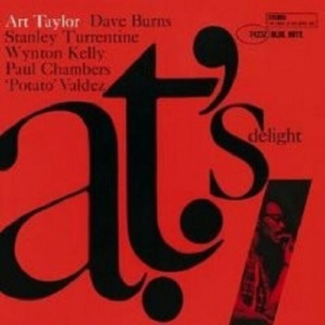 "ART TAYLOR ""A.T.'S DELIGHT"" CD NEU"