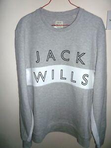 Gris Jack Taille Neuf Et Avectiquettes L Blanc Wills Sweatshirt wzCRFqq