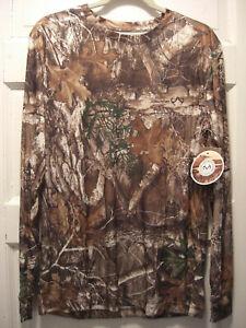 Men-039-s-Realtree-Long-Sleeve-Camouflage-Shirt-S-M-L-XXL