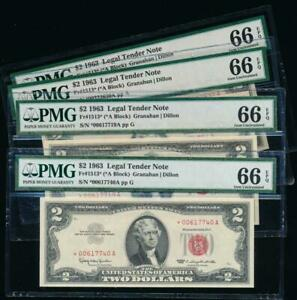 AC-1963-2-Legal-Tender-STAR-PMG-66-EPQ-Fr-1513-price-for-one-note