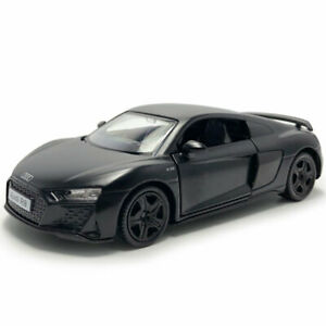 Audi-R8-Coupe-2019-Sports-Car-1-36-Model-Car-Diecast-Gift-Toy-Vehicle-Kids-Black