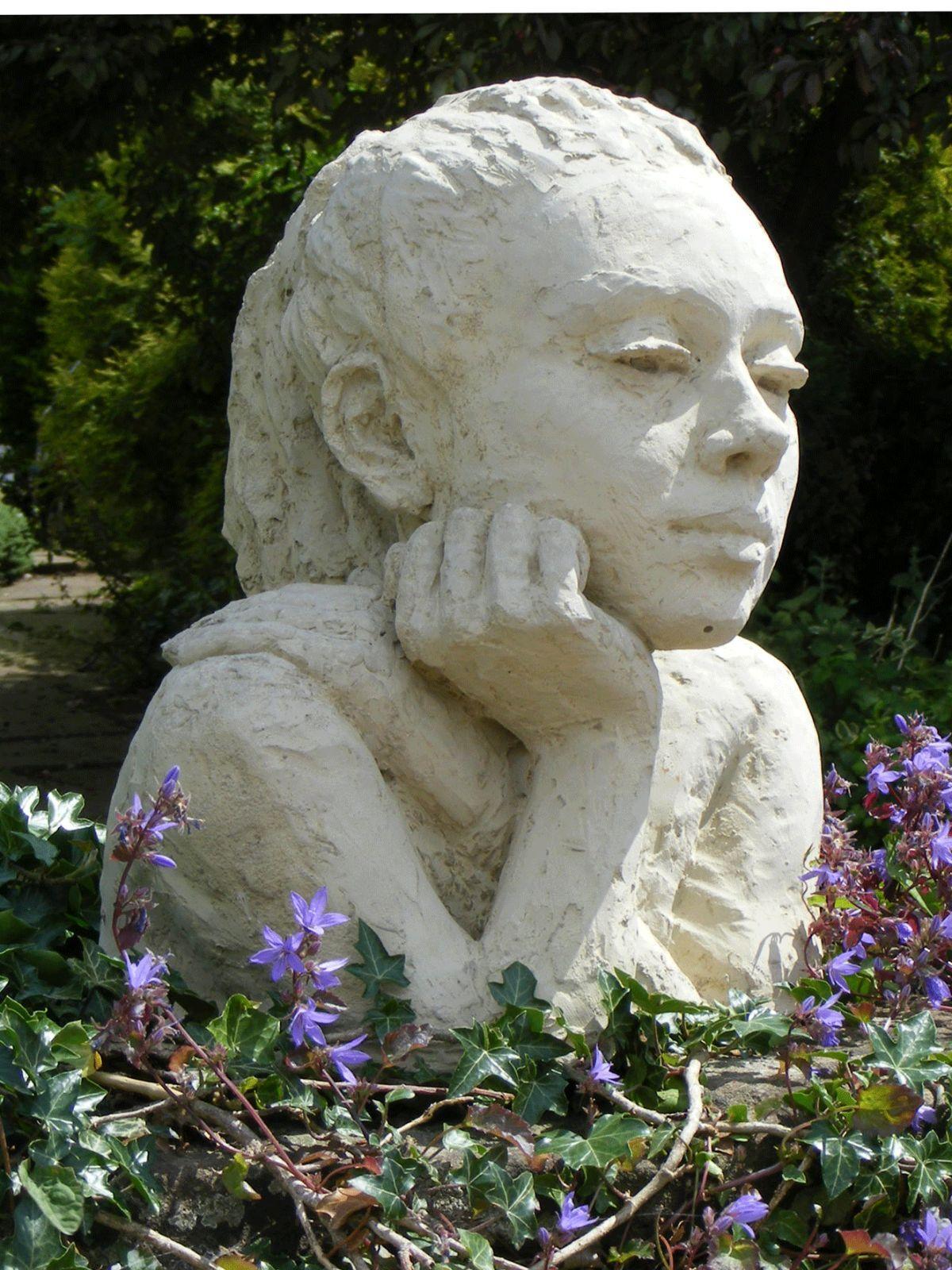 Female Bust in Cast stone   Chloe  by Artstone