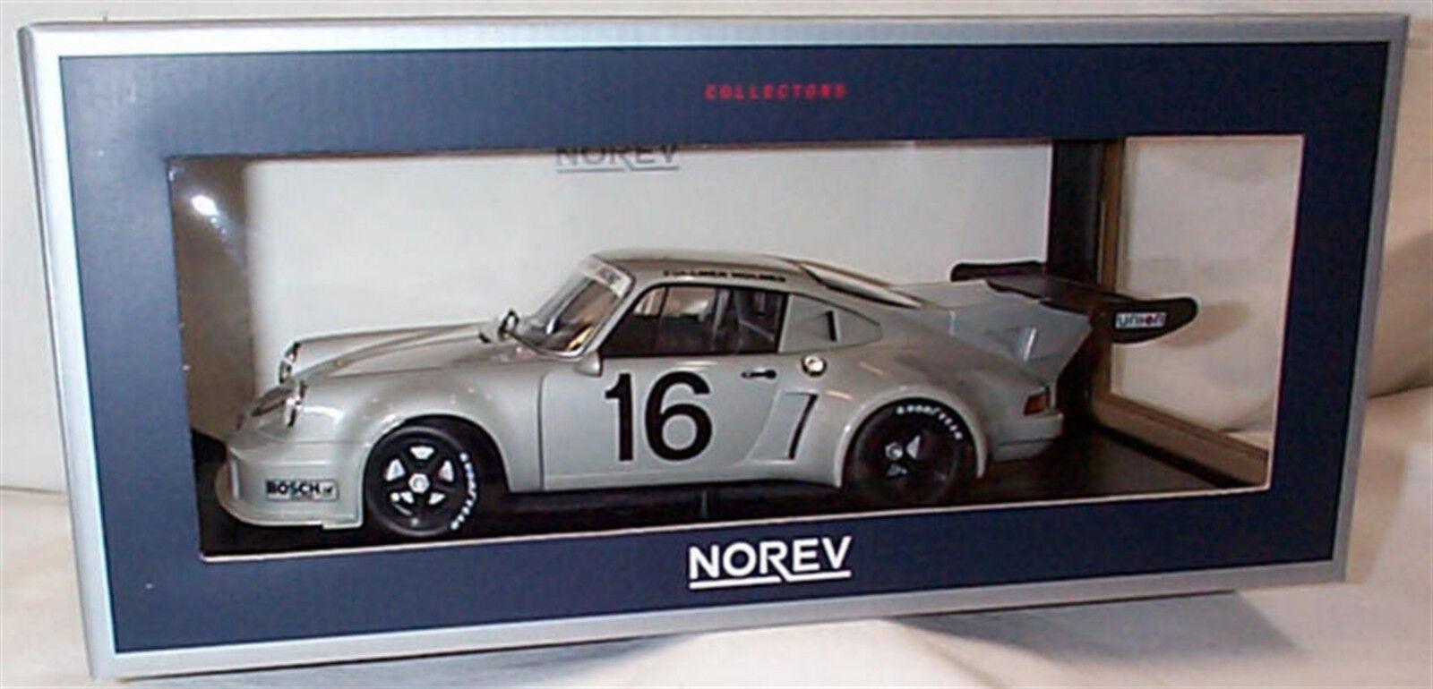 Porsche 911 911 911 Carrera RSR 2.1 Racing No16 1 18 SCALE New in box 187427 e46945