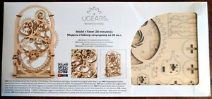 Image Is Loading Ugears Model 20 Minute Mechanical Timer New Sealed