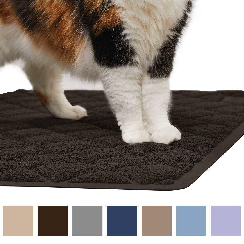 Premium Durable Cat Litter Mat XL Jumbo No Phthalate Water Resistant Easy Clean