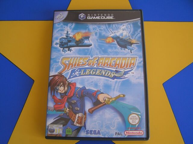 SKIES OF ARCADIA LEGENDS -  GAMECUBE - Wii Compatible