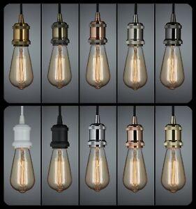 Retro-Vintage-Ceiling-Light-Bulb-Holder-Pendant-Kitchen-Island-Bar-Cafe-Dining
