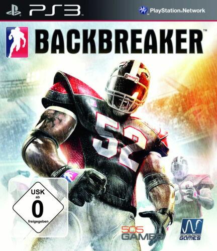 1 von 1 - Sony Playstation 3 PS3 Spiel Backbreaker