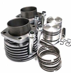 Zylinder-mit-Kolben-Ringen-Bolzen-URAL-650-ccm-cylinders-pistons-set-NEW